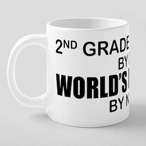2ND GRADE 20 oz Ceramic Mega Mug
