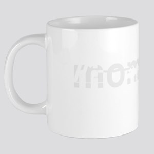 mommy-charge-white 20 oz Ceramic Mega Mug