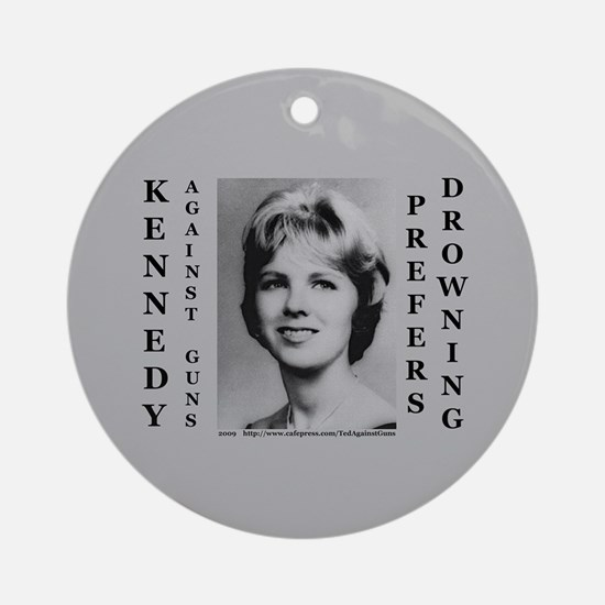 Kennedy Against Guns Ornament (Round)