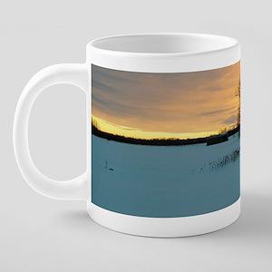 Sunset0019mug 20 oz Ceramic Mega Mug