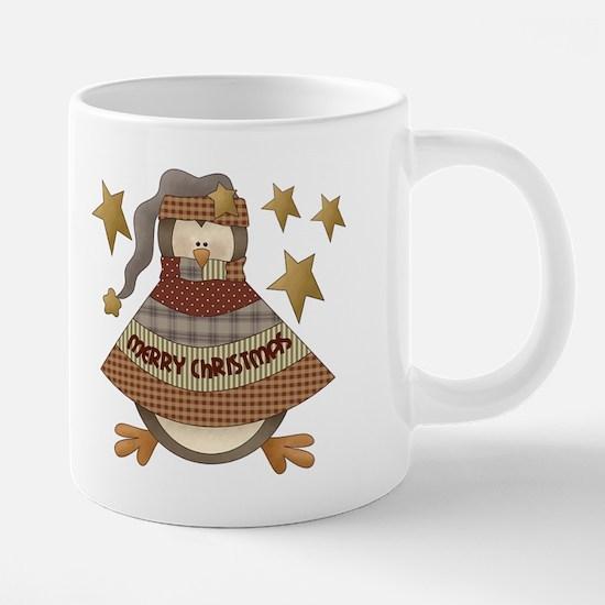 Mug Merry Christmas Penguin 20 oz Ceramic Mega Mug