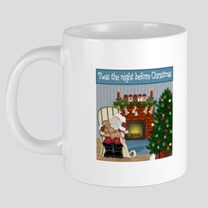 Mug Night Before Christmas. 20 oz Ceramic Mega Mug