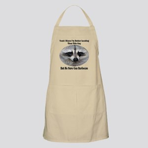 Raccoon BBQ Apron