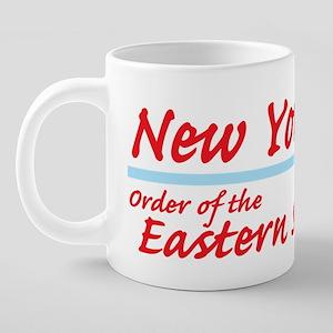 NY OES Shirt 20 oz Ceramic Mega Mug