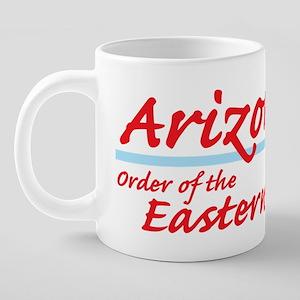 Arizona OES Shirt 20 oz Ceramic Mega Mug
