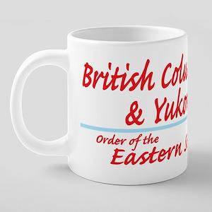 BC/Yukon OES Shirt 20 oz Ceramic Mega Mug