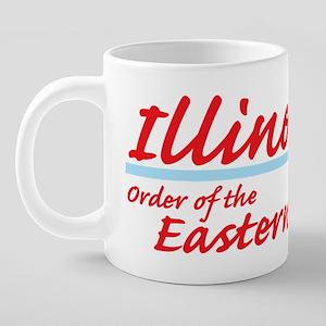 Illinois eastern star shirt 20 oz Ceramic Mega Mug