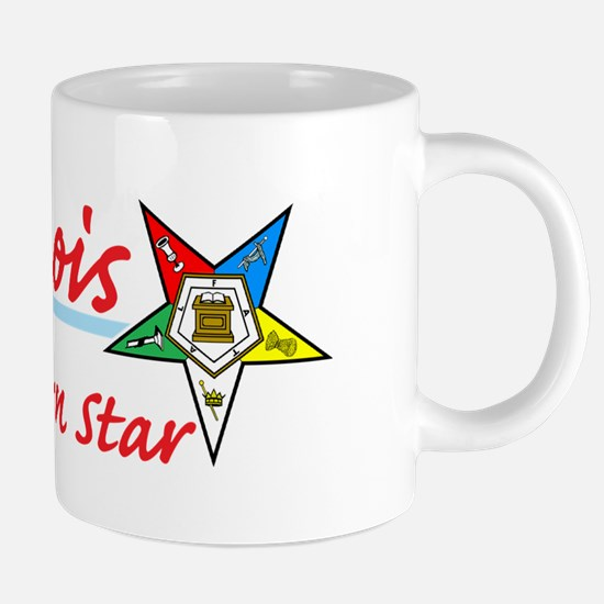 Illinois eastern star shirt 20 oz Ceramic Mega Mug