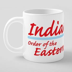 Indiana eastern star shirt. 20 oz Ceramic Mega Mug