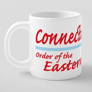 Conn eastern star shirt 20 oz Ceramic Mega Mug