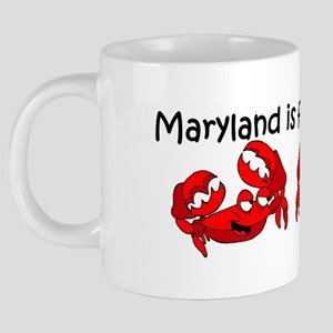 mug maryland crabs 20 oz Ceramic Mega Mug