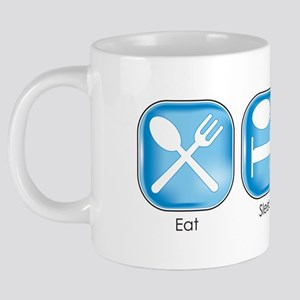 Eat Sleep PODCASThttp://www 20 oz Ceramic Mega Mug