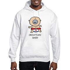 Croatian Baby Hoodie