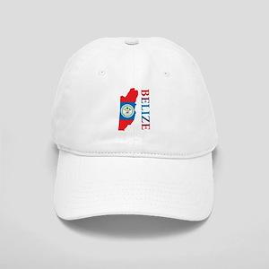 Map Of Belize Cap