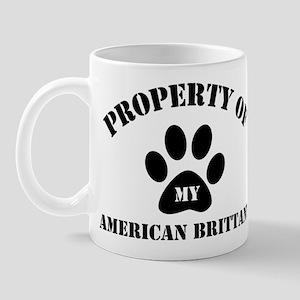 My American Brittany Mug
