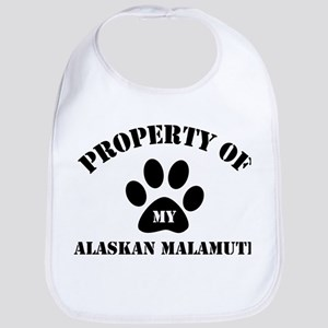 My Alaskan Malamute Bib