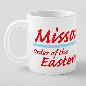 Missouri eastern star shirt 20 oz Ceramic Mega Mug