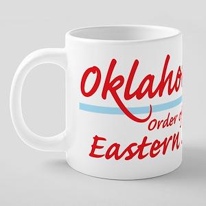2-Oklahoma eastern star shi 20 oz Ceramic Mega Mug