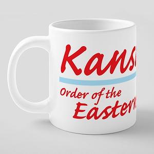 kansas eastern star shirt.p 20 oz Ceramic Mega Mug