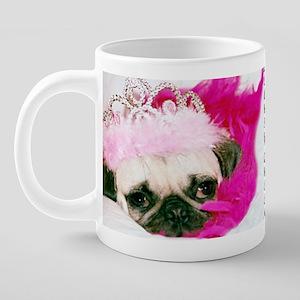 BeautyQueen 20 oz Ceramic Mega Mug