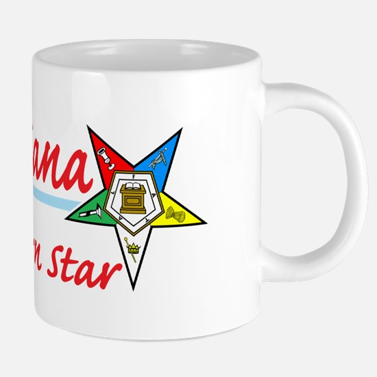 Louisiana eastern star shir 20 oz Ceramic Mega Mug