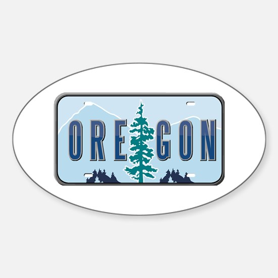 Oregon Oval Decal