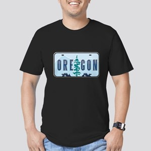 Oregon Men's Fitted T-Shirt (dark)
