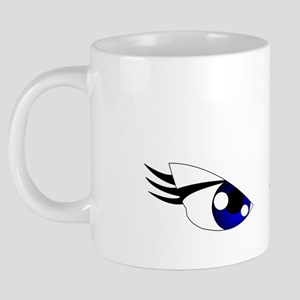 Sexy Eyes 20 oz Ceramic Mega Mug