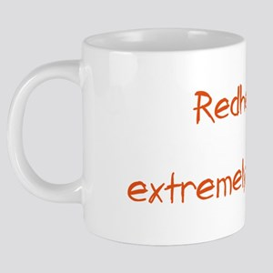 Redhead Contents May Be Ext 20 oz Ceramic Mega Mug