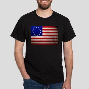 Betsy Ross Flag Dark T-Shirt