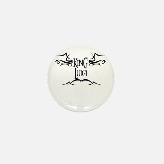King Luigi Mini Button