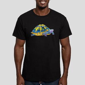 Celtic Turtle Men's Fitted T-Shirt (dark)