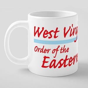 West Virginia eastern star  20 oz Ceramic Mega Mug