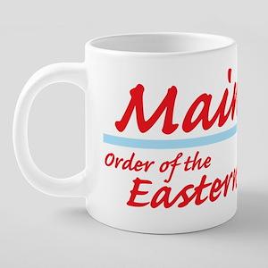 Maine eastern star shirt.pn 20 oz Ceramic Mega Mug