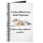 A day without my Great Pyrenees Journal