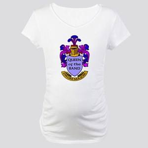 Drum Major - Queen of the Ban Maternity T-Shirt