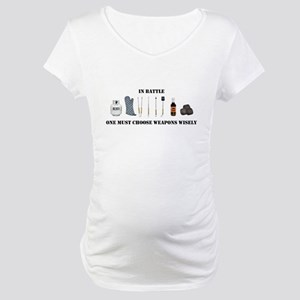 Grill Wars Maternity T-Shirt