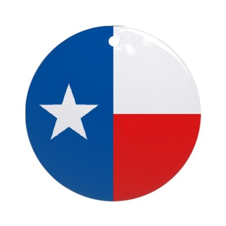 Flag of Texas Ornament (Round)