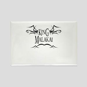 King Malakai Rectangle Magnet