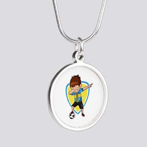 Football Dab Sweden Swedes Swedish Footb Necklaces