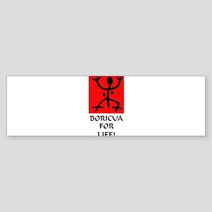 Boricua II Bumper Sticker