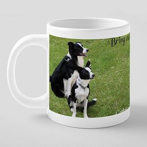 doubledoggiesmug 20 oz Ceramic Mega Mug