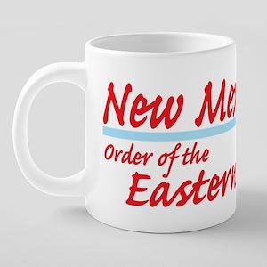 New Mexico eastern star shi 20 oz Ceramic Mega Mug
