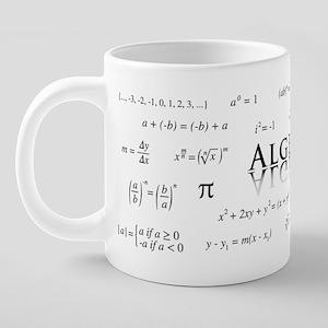 Algebra Equations 20 oz Ceramic Mega Mug