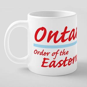 Ontario eastern star shirt. 20 oz Ceramic Mega Mug