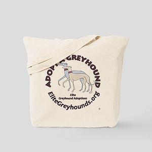 Elite Greyhound Adoption Tote Bag