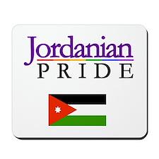 Jordanian Pride Flag Mousepad