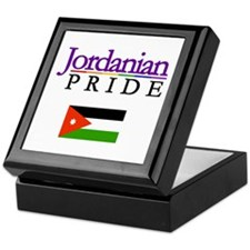 Jordanian Pride Flag Keepsake Box
