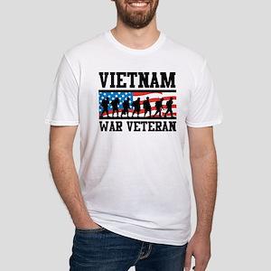 Vietnam War Veteran Fitted T-Shirt
