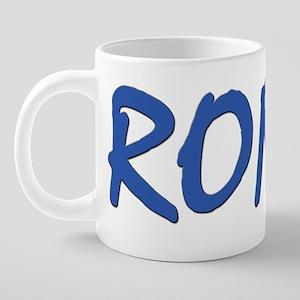 RONIN-clear 20 oz Ceramic Mega Mug